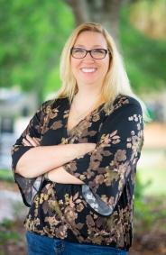 Author Brenna Ash. (Photo by Chris Kridler)