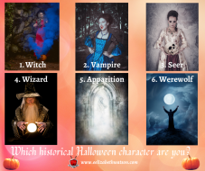 Which Medieval Halloween character are you?